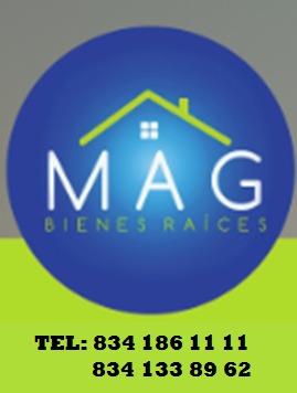 logo MAG LETRAS NEGRA